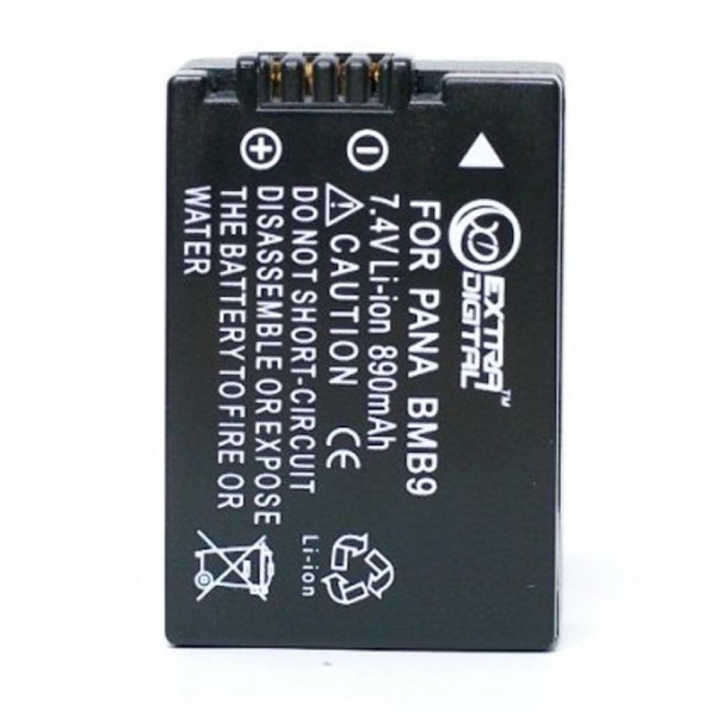 Акумулятор до фото/відео EXTRADIGITAL Panasonic DMW-BMB9 (DV00DV1328)
