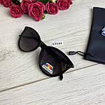Модні чорні сонцезахисні окуляри лінза polarized, фото 4