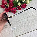 Модні чорні сонцезахисні окуляри лінза polarized, фото 5