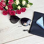 Модні чорні сонцезахисні окуляри лінза polarized, фото 3