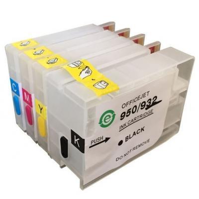 Комплект перезаправляемых картриджей NewTone HP OfficeJet 6100/7610 (RC.932)