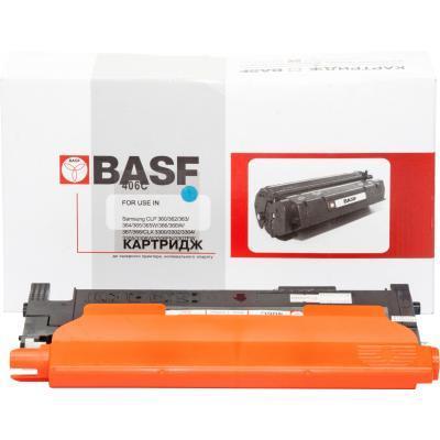 Картридж BASF Samsung CLP-365/CLX-3305/3305FN аналог CLT-C406S (KT-C406S-CLP365)