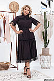 Романтическое платье в винтажном стиле  размеры 50, 52, 54, 56, 58, 60, 62, фото 2