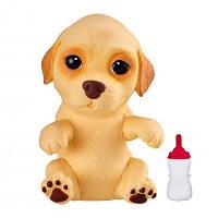Интерактивная игрушка Moose Soft Hearts Новорожденный щенок Labbie (28920)