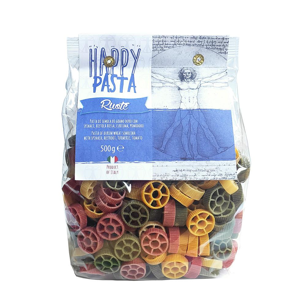 Макарони DALLA COSTA Happy Pasta Ruote 500г 12шт/ящ 1810