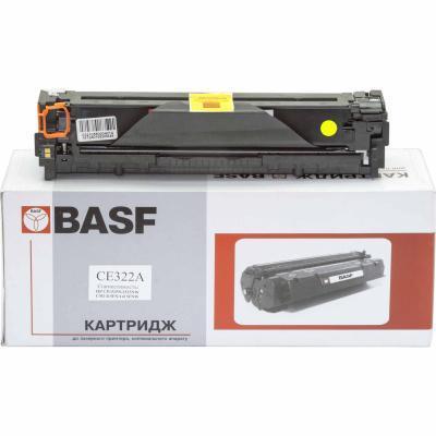 Картридж BASF для HP CLJ CP1525n/CM1415fn аналог CE322A Yellow (KT-CE322A)
