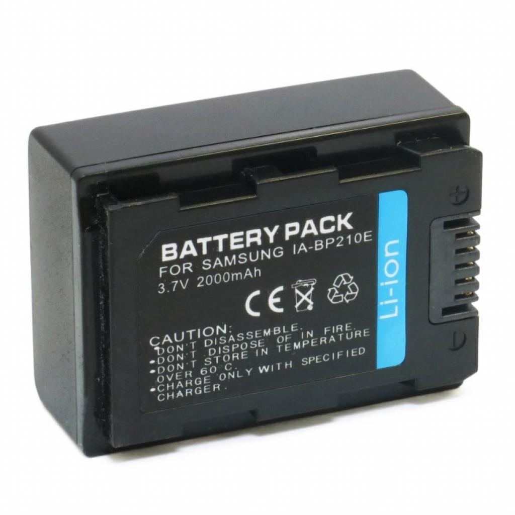 Аккумулятор к фото/видео EXTRADIGITAL Samsung IA-BP210E (DV00DV1285)