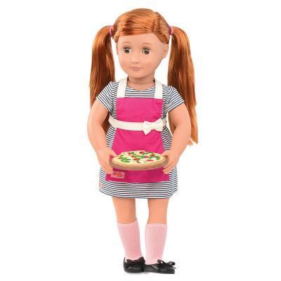 Лялька Our Generation DELUXE Ноа готує обід з книгою (BD31092ATZ)