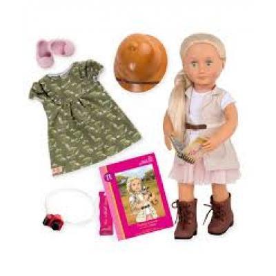 Кукла Our Generation Deluxe Найя 46 см- любительница сафари (BD31164ATZ)