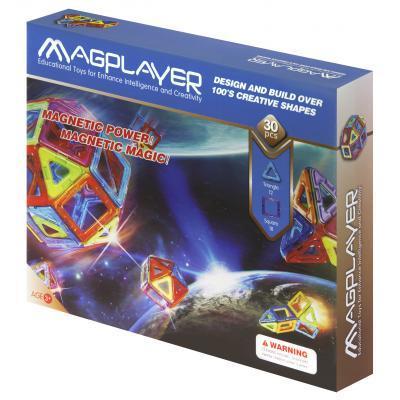Конструктор Magplayer Набір 30 елементів (MPB-30)