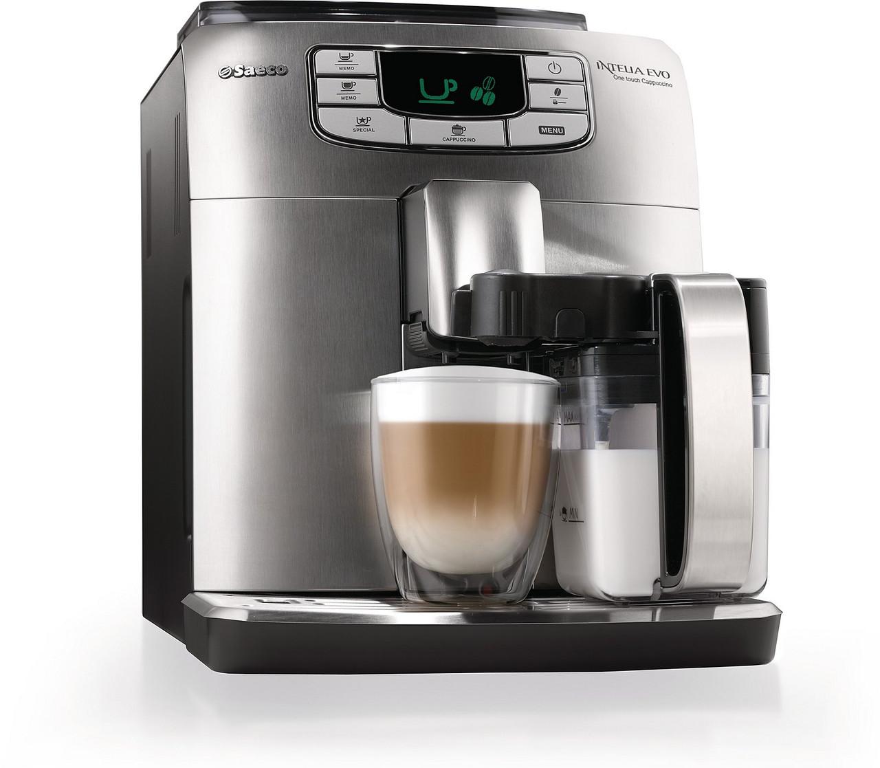 Кофеварка saeco intelia