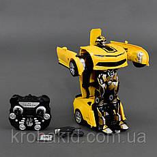 Радіокерований трансформер автобот Бамблбі / Transformer bumblebeeJQ Mighty TT671, фото 3