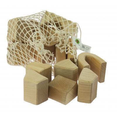 Конструктор nic дерев'яний Великий натуральний 17 ел. (NIC523283)