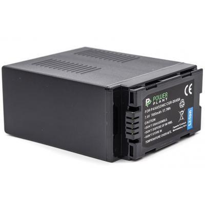 Акумулятор до фото/відео PowerPlant Panasonic CGR-D54SH 7800mAh (CB970179)
