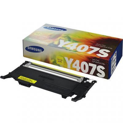 Картридж Samsung CLP-320/320N/325, CLX-3185 yellow, CLT-Y407S (SU476A)