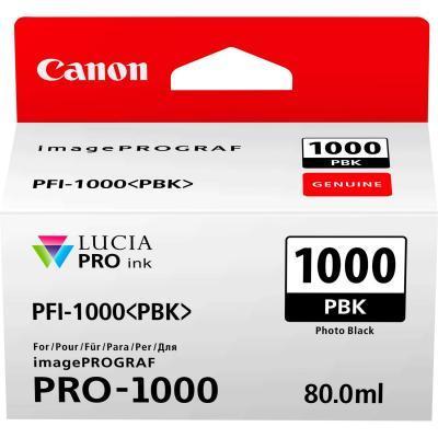 Картридж Canon PFI-1000PBK (Photo Black) (0546C001)