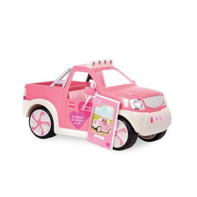 Аксессуар к кукле LORI Джип розовый с FM радио (LO37033Z)