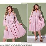 Летнее женское платье  размеры : 50-52, 54-56, 58-60, фото 2