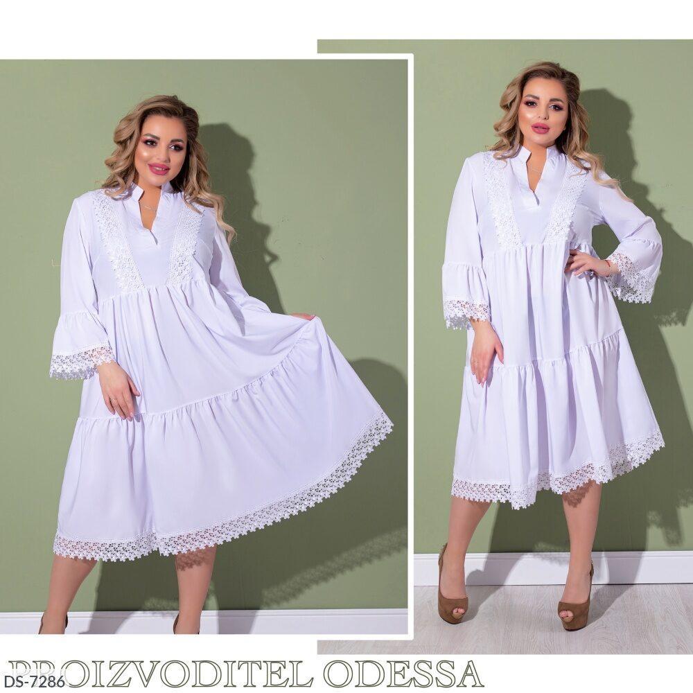 Летнее женское платье  размеры : 50-52, 54-56, 58-60