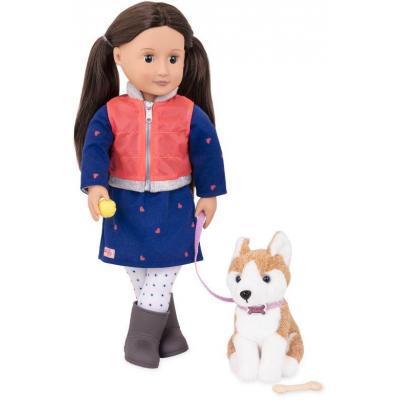 Лялька Our Generation Леслі з собакою 46 см (BD31201Z)