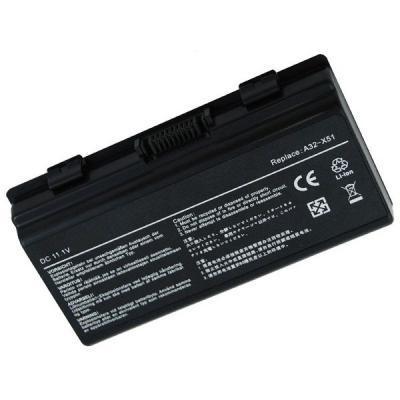 Аккумулятор для ноутбука ASUS X51H (A32-T12, AS5151LH) 11.1 V 5200mAh PowerPlant (NB00000011)