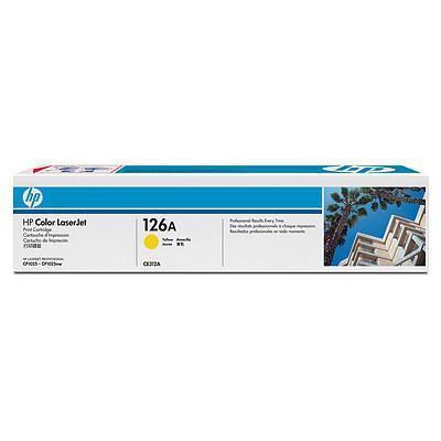 Картридж HP CLJ  126A Yellow, для CP1025 (CE312A)