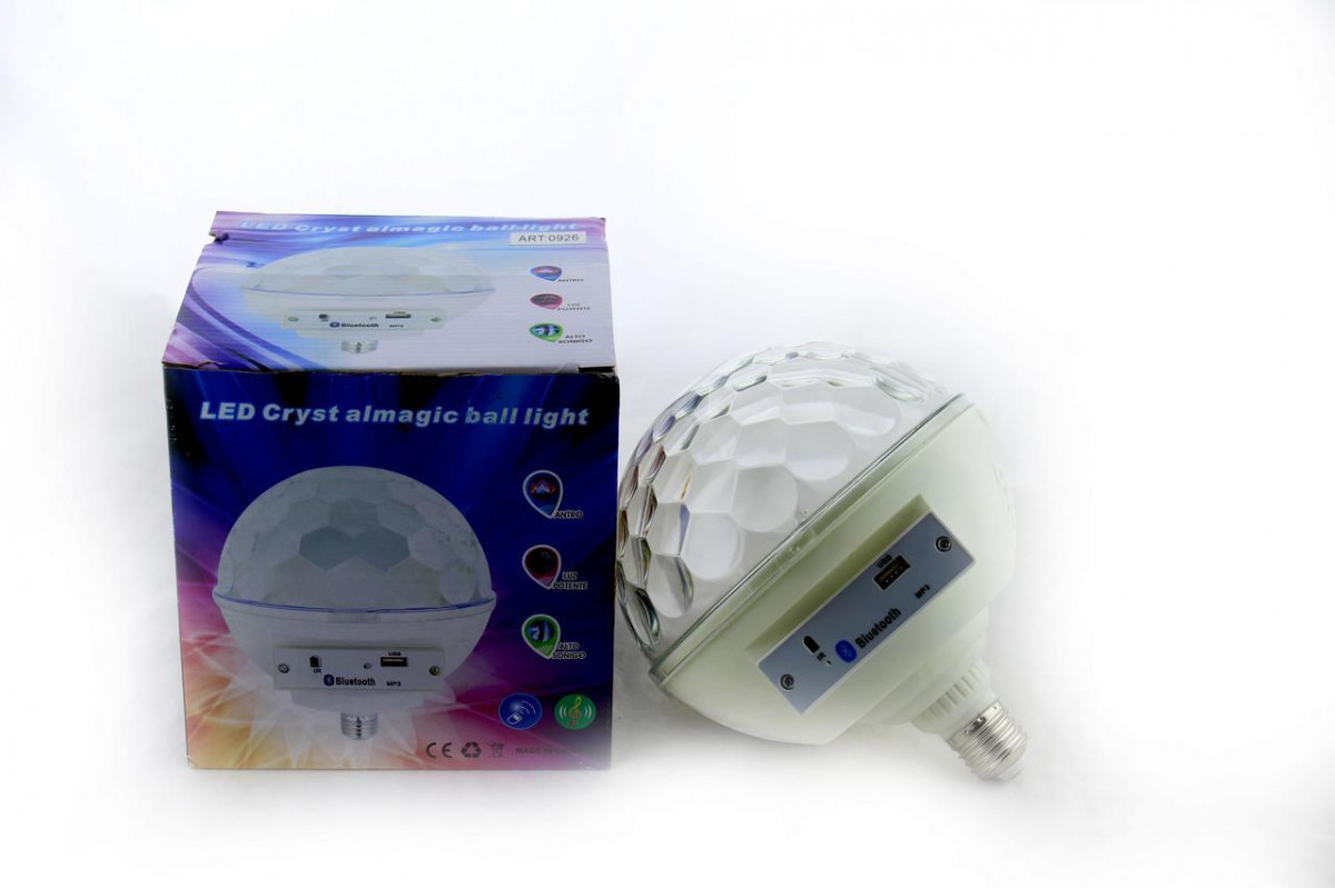 Диско-куля Musik Ball E27 997 BT