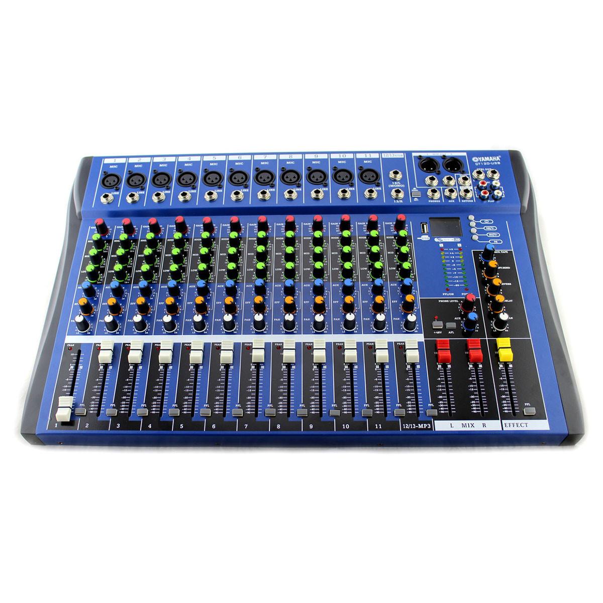Аудио микшер Mixer 12USB   CT12 Ямаха 12 канальный (Арт:6820/5682)