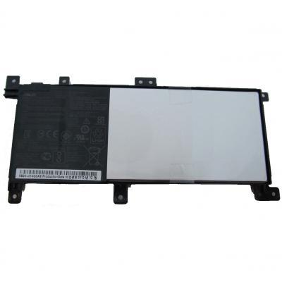 Аккумулятор для ноутбука ASUS X556 C21N1509, 4840mAh (38Wh), 4cell, 7.6 V, Li-ion, чорний, (A47246)