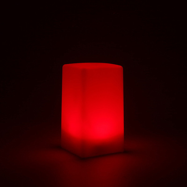Лабораторный фонарь красный для фотопечати.