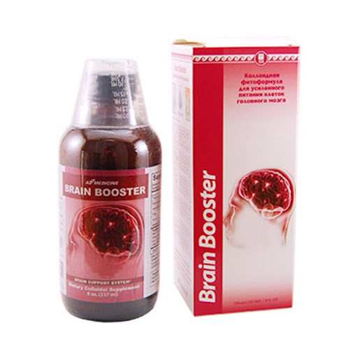 Brain Booster, для питания головного мозга, память, работоспособность, головная боль, мигрень, инсульт, травмы