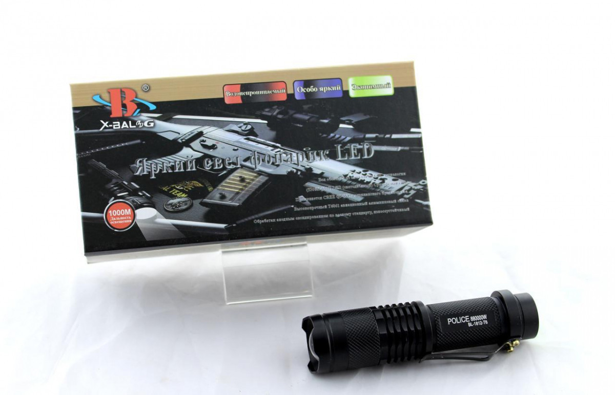 Ліхтарик BL 1812-T6