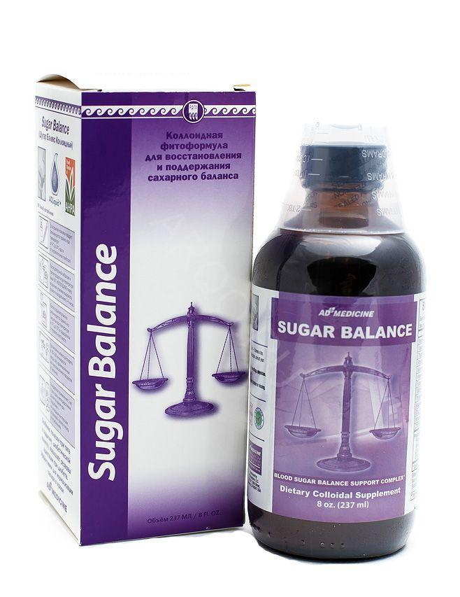 Sugar Balance восстанавливает клетки поджелудочной железы, инсулин, диабет, витамины группы В,С,Е, цинк, селен