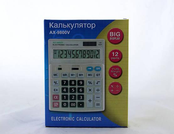 Калькулятор AX 9800V, фото 2