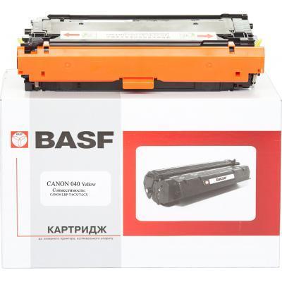 Картридж BASF Canon 040Y 0454C001 Yellow (KT-040Y)