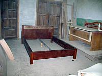 Кровать из натурального дерева щитовая Надежда (сейба), 1200*2000, фото 1