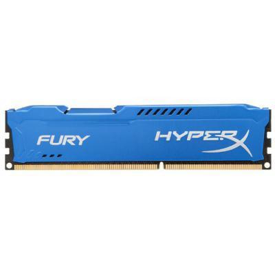 Модуль пам'яті для комп'ютера DDR3 8Gb 1866 MHz HyperX Fury Blu Kingston (HX318C10F/8)