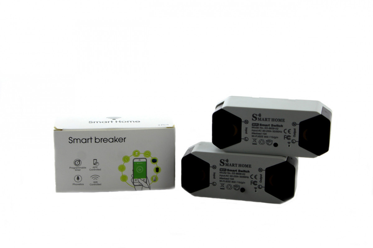Умное wi-fi релле Smart Home
