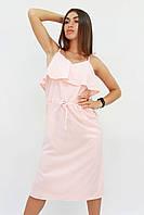 S, M, L | Молодежное повседневное персиковое платье Janice