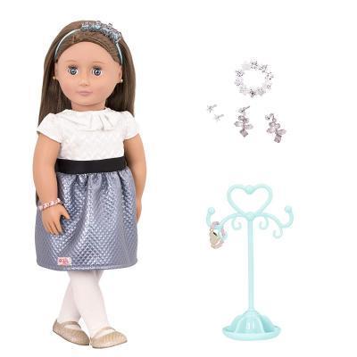 Лялька Our Generation Аліано з прикрасами 46 см (BD31166Z)