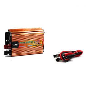 Преобразователь, инвертор UKC - AC/DC, 12V/200V, 200W