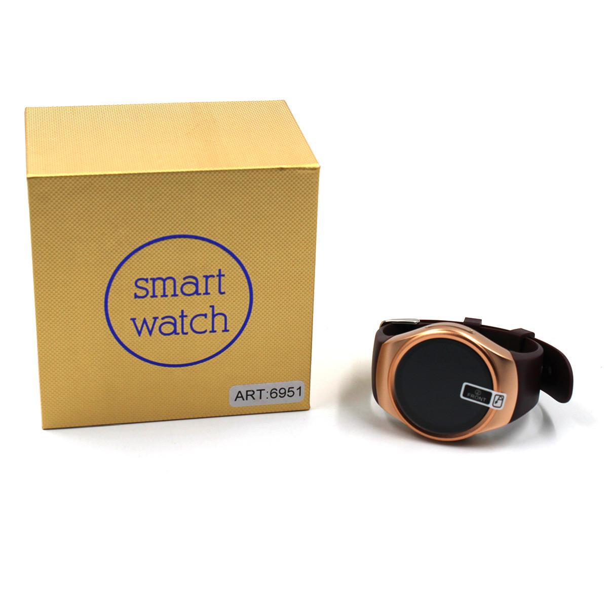 Годинник Smart watch Kingwear KW18 Gold