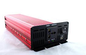 Преобразователь, инвертор UKC AR - AC/DC, 12V/200V, 3000W