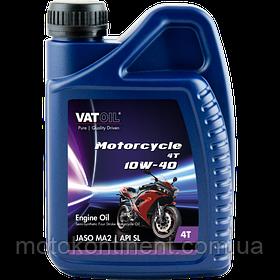 Мотоциклетное масло 10W-40 полусинтетическое Vatoil Motorcycle 4T  Semi-synthetic 10W40 / 1л. от KROON OIL