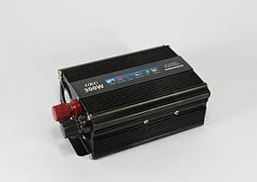 Преобразователь, инвертор UKC - AC/DC, 12V/200V, 300W