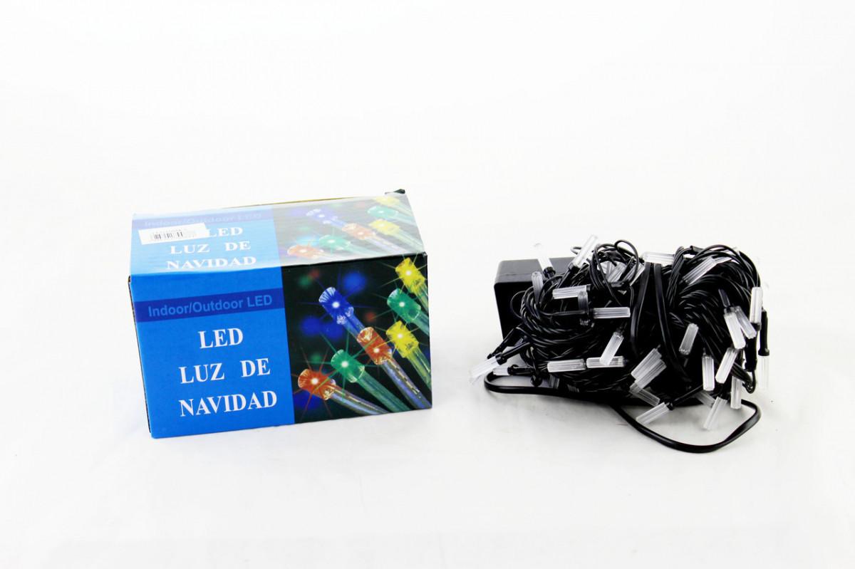 Светодиодная LED гирлянда Xmas 100 M-5 RGB (цветные диоды)