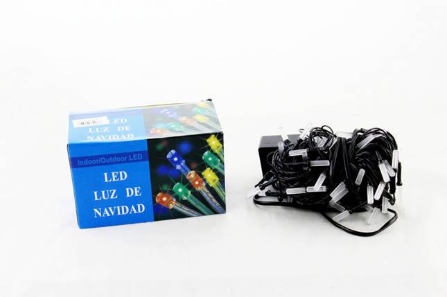 Светодиодная LED гирлянда Xmas 100 M-5 RGB (цветные диоды), фото 2