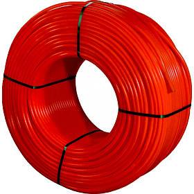 Труба для тёплого пола KOER PE-RT/EVAL 16X2 Красная(RED) бухта 200м