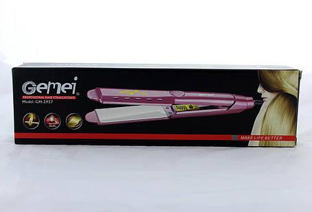 Щипці для волосся GM 2957W (гофре), фото 2