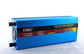 Преобразователь синусоида (модифицированая) AC/DC sine пиковая мощьность 1200W
